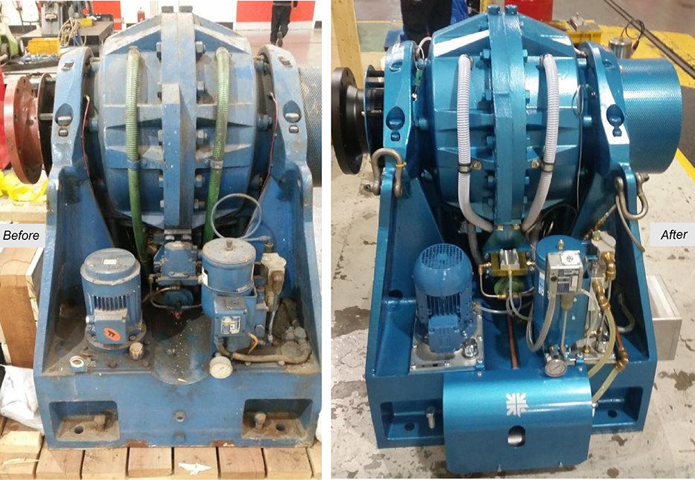 Froude F47 Dynamometer Refurb
