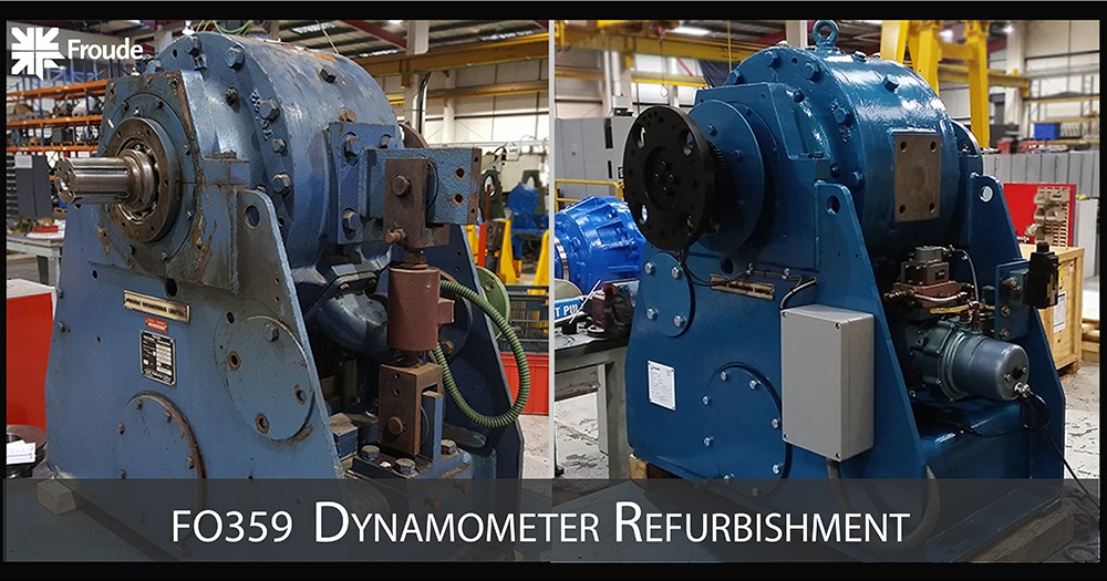 Froude F0359 Dynamometer Refurb